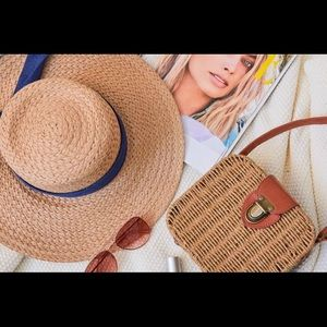 Summer + Rose Meghan Straw Hat